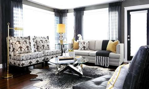 Cowhide Interior by 20 Living Rooms Adorned With Cowhide Rugs Home Design Lover