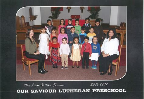 school pictures our saviour lutheran church 725 | Miss Lisa Class