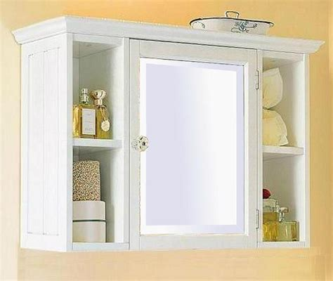 bathroom wall cabinet with shelf small white bathroom wall cabinet with shelf home