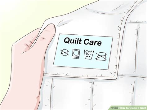 how to wash quilt 3 ways to clean a quilt wikihow