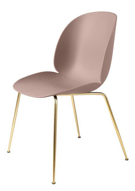 pied de chaise chaise beetle gamfratesi plastique pieds laiton