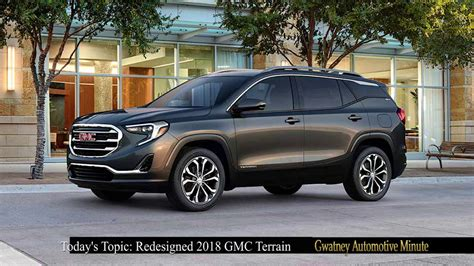 gmc terrain completely redesigned