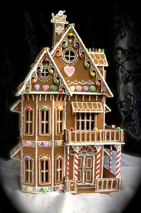 fancy gingerbread house templates gingerbread house patterns house style design