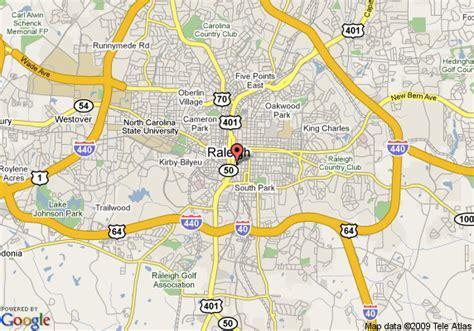 map  sheraton raleigh hotel raleigh