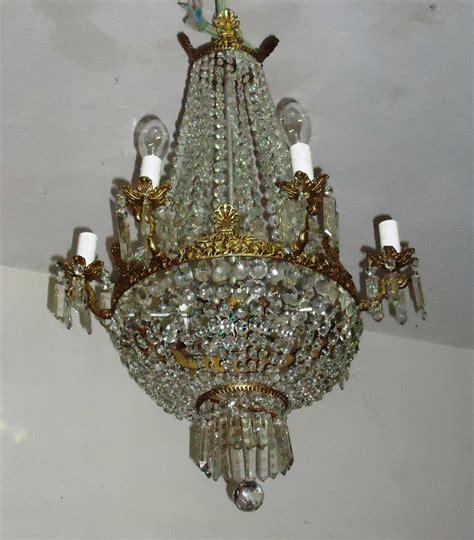 antigo lustre cristal baccarat r 4 500 00 em mercado livre