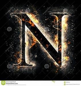 Fire Letter N Stock Illustration  Business Thank You Letter Business Thank You Letter Good
