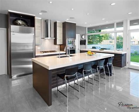 ultra modern kitchen designs 20 лучших идей темный и серый пол в интерьере комнат 6481