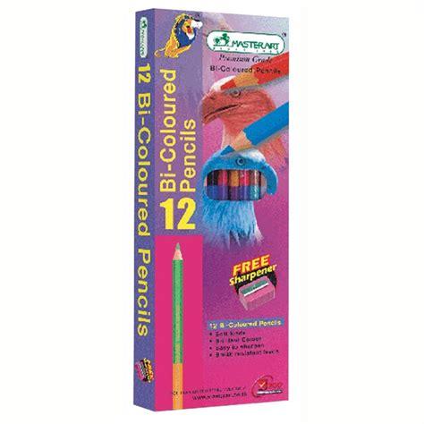 ดินสอสี 2 หัว กล่อง12สี มาสเตอร์อาร์ต   OfficeMate