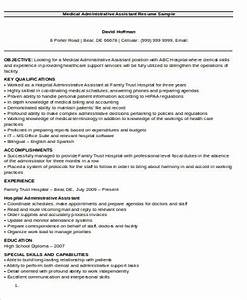Administrative Assistant Resume Objectives Medical Assistant Resume Objective 6 Examples In Word Pdf