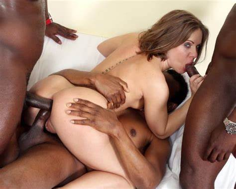 Deep Booty And Triple Penetration Is What She Relish