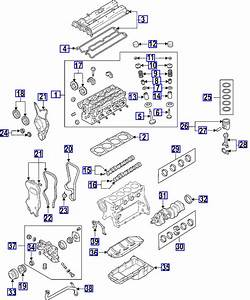 07 Suzuki Forenza Exhaust Parts Diagram