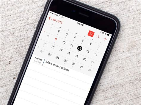 how to enable week numbers in calendar for iphone and ipad imore