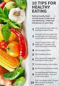 10 tips for healthy healthy food choices