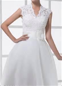 Spitzen Brautkleid Standesamt 50er Jahre