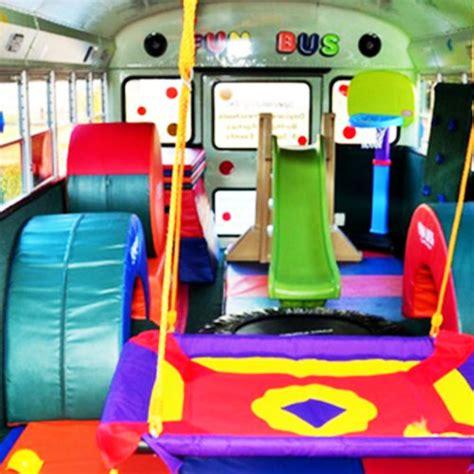 fun bus mobile kids gym toddler classes  party venue