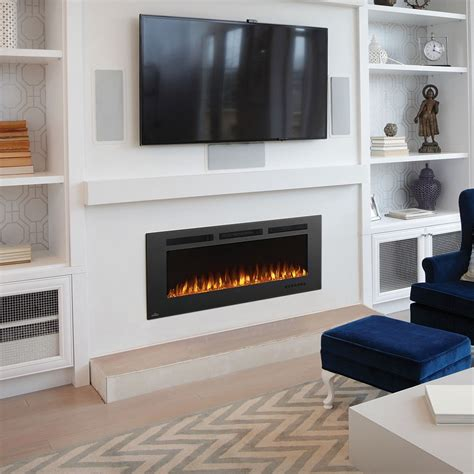 types  tips wall mounted electric fireplace  home