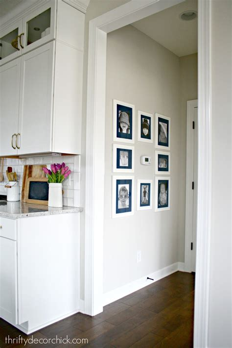 Is wall thermostat an effector? Art wall around the thermostat (and a hanging art hack ...