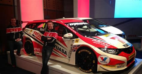 small blog  honda  enter  estate   btcc