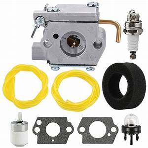 Carburetor Gasket Fuel Line Filter For Yard Man 753