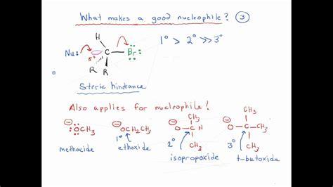 good nucleophile  youtube
