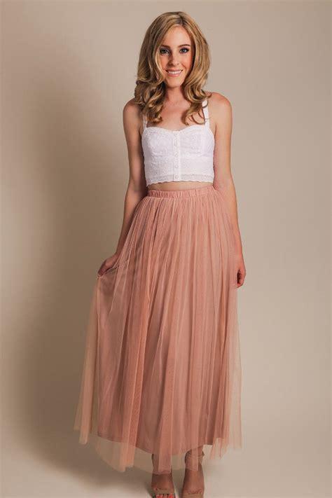 Morning Skirt tulle maxi skirt morning lavender the