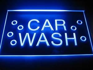 Car Wash Logo Beer Bar Pub Store Light Sign Neon B164