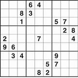 Sudoku Medium Difficulty   460 x 460 gif 12kB