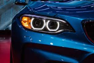 Blue Car Headlights