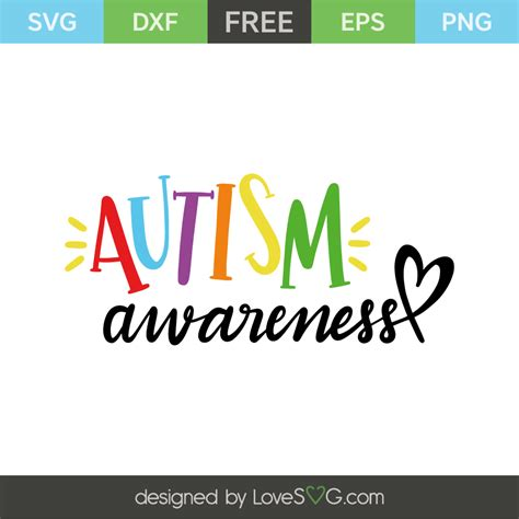 Free vector icons in svg, psd, png, eps and icon font. Autism awareness   Lovesvg.com