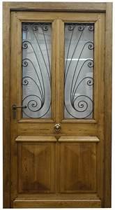 Grille Porte D Entrée : fabrication de porte d 39 entree avec grilles anciennes ~ Melissatoandfro.com Idées de Décoration