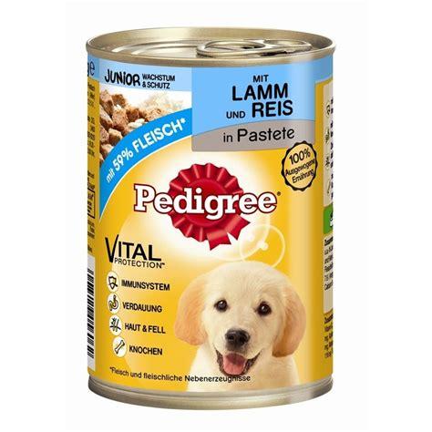 pedigree junior hundefutter dose von pedigree guenstig