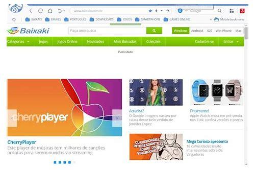 internet explorer 8 navegador baixar gratuito em portugues