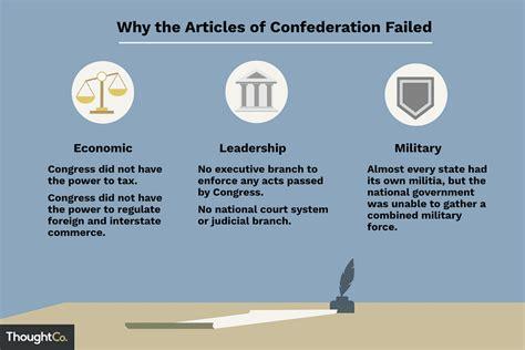 articles  confederation failed