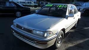 1990 Toyota Corolla Instruction Manual