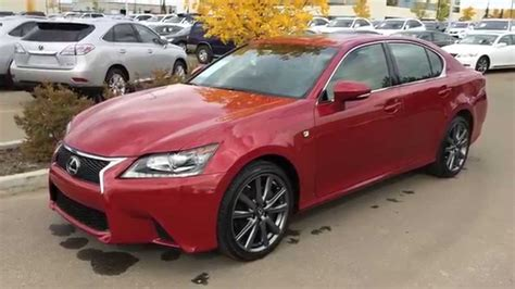 lexus gsf red lexus certified pre owned red 2014 gs 350 awd f sport