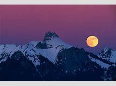 Mondaufgang am Stockhorn Forum für Naturfotografen