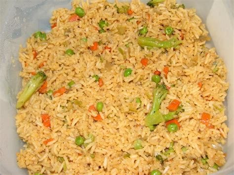 vegetable rice recipe xcitefun net