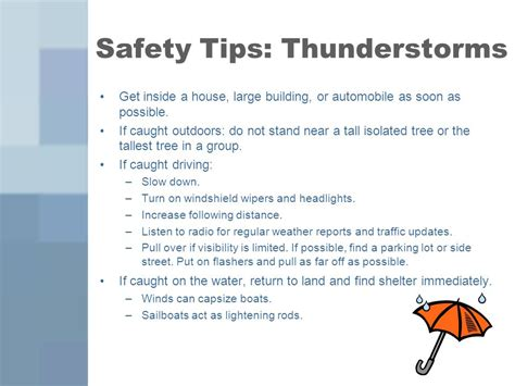 Boat Safety During Thunderstorm by Severe Summer Weather Ppt