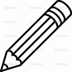 Pencil Vector Outline | Clipart Panda - Free Clipart Images