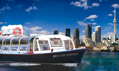 Toronto Boat Tours by Toronto Harbour Tours In Toronto On Livingsocial
