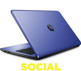 "HP Blue Laptop 15"" Notebook"