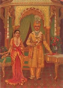 The Maharaja & Maharani of Mysore by artist Raja Ravi ...