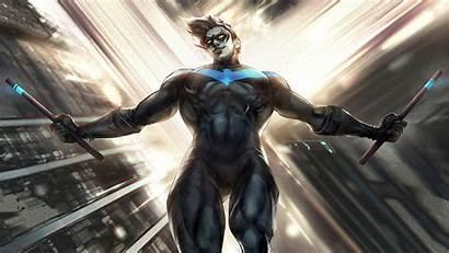 Nightwing 4k Artwork Wallpapers Resolution Artstation Superheroes