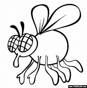 Insect Online Coloring Pages Page 1
