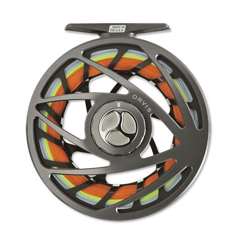 orvis orvis mirage large arbor fly reel feather craft fly fishing
