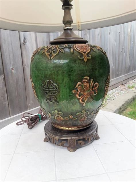 chinese ginger jar table ls chinese ginger jar mid century table l for sale at 1stdibs
