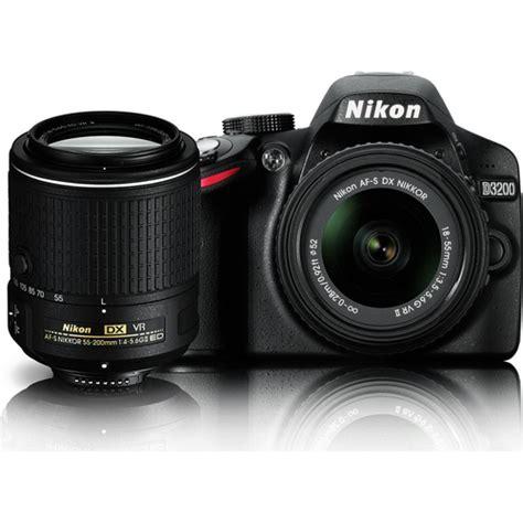 nikon d3200 dslr 18 55mm vr lens kit nikon d3200 24 2 mp dslr dual vr ii lens kit with 18 55mm
