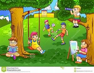 Spiel Im Garten : kinder die im garten spielen lizenzfreie stockfotografie bild 28398917 ~ Frokenaadalensverden.com Haus und Dekorationen