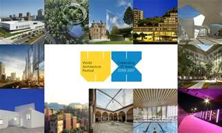 Award Entries For The World Architecture Festival 2017 Are