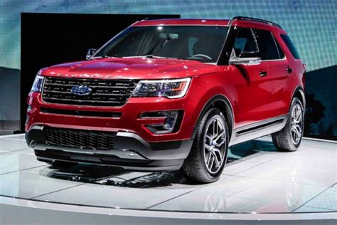 2016 Ford Explorer Release Date, Price, Review, Specs